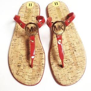 🆕️ MICHAEL KORS Charm Jelly Thong Sandals!